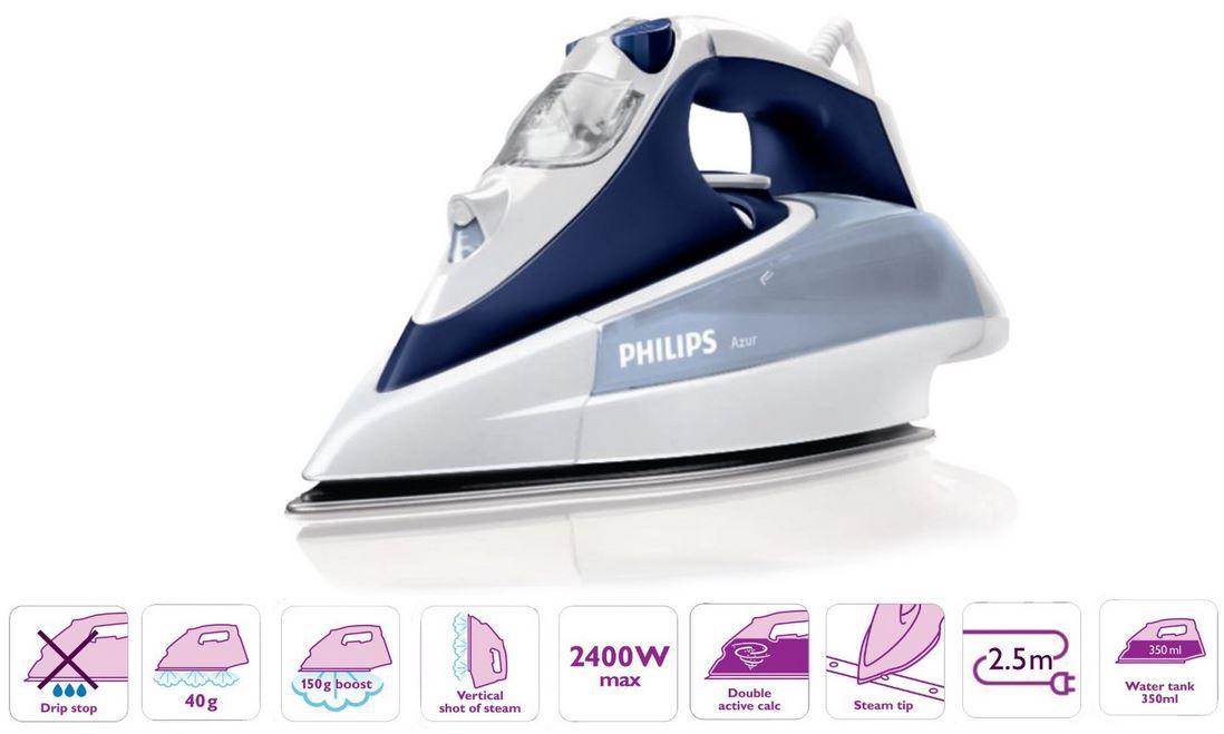Philips GC4410 Philips GC4410/22   Dampfbügeleisen für nur 38€ (statt 48€)