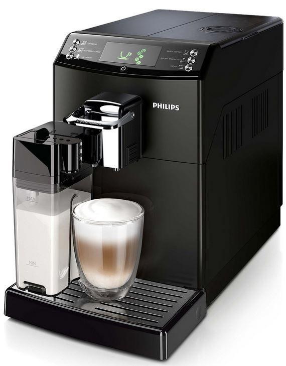 Philips HD8847  Philips HD8847/01 4000er Serie   Kaffeevollautomat CoffeeSwitch mit Milchaufschäumer für 384,99€