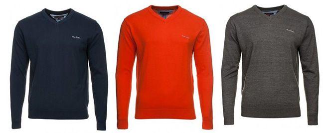 Pierre Cardin   V Neck Herrenpullover 10 Farben bis  XXXL für 7,99€ (statt 21€)