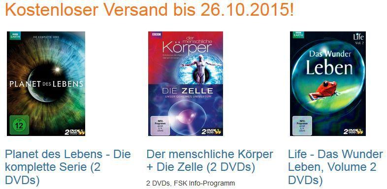 Planet des Lebens   Die komplette Serie (2 DVDs) und mehrDokus zum Preis von nur 4,99€