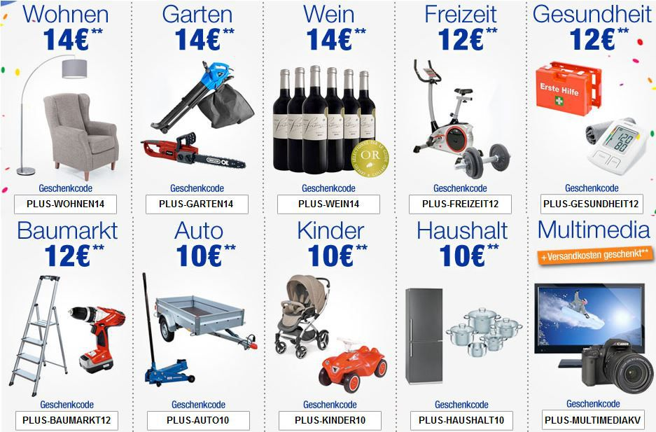 Plus.de mit verschiedenen Gutscheincodes z.B. 14€ Sofortrabatt!