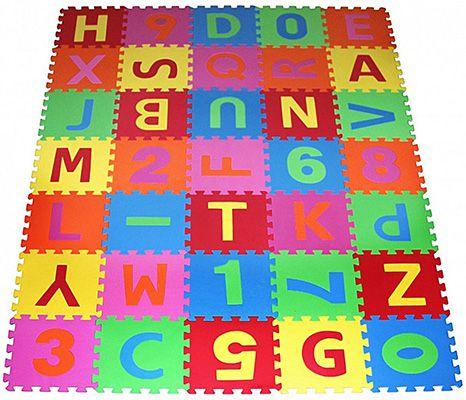Prinzbert Puzzlematte 86 teilig 180x180cm für 23,90€