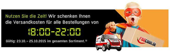 Redcoon mit kostenloser Lieferung von 18 22 Uhr   z.B. Panasonic Evolta AA Batterien im 4er Pack für nur 2,99€