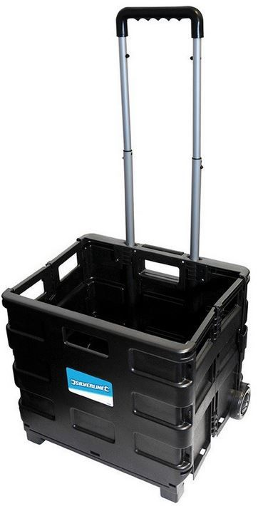 Silverline 633400 Klappbarer Kastenkarren 25kg ab 9,95€