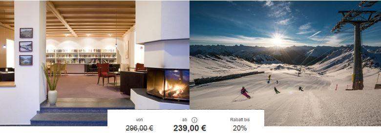 Ski Gutschein 3* Hotel Strela Skiurlaub in Davos mit 3, 4 oder 5 Übernachtungen inklusive Frühstück und Skipass ab 239€ p.P.