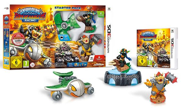 Skylanders SuperChargers Racing: Starter Pack (3DS) für 39,99€ (statt 51€)