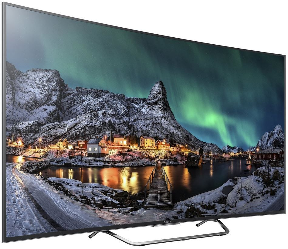 Sony KD55S8005C  55 Zoll 3D Curved Android Smart UHD TV für 1.099€