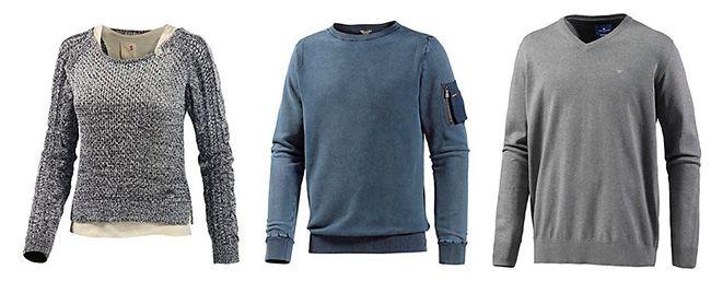 Sportscheck Strickpullover Strickpullover mit 50% Rabatt im Sportscheck Sale   Tom Tailor, VANS, Jack & Jones uvm.