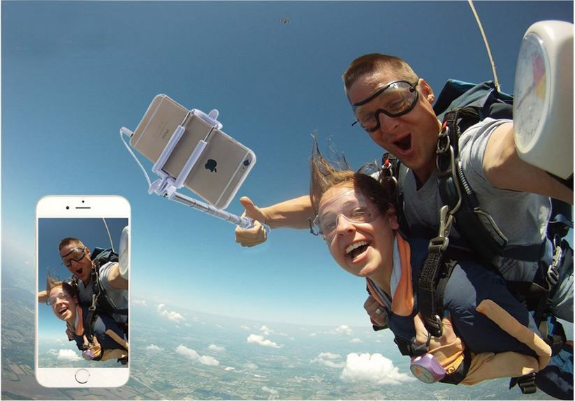 Foxnovo   batterieloser Selfie Stick mit Bildstabilisator ab 3,99€