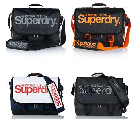 Superdry Taschen Superdry Umhängetaschen für je 26,36€