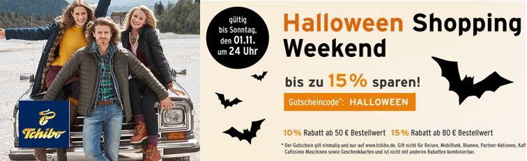 Tchibo Halloween Sale mit bis zu 15% Rabatt!