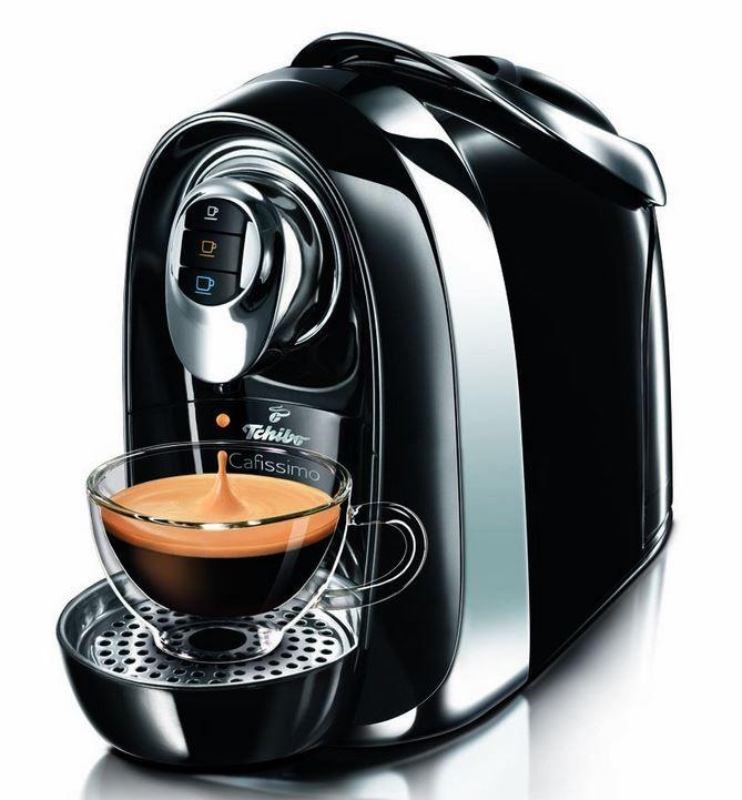 Tchibo Cafissimo Compact Kaffeekapselmaschine für 33,33€ + 30 Kapseln gratis