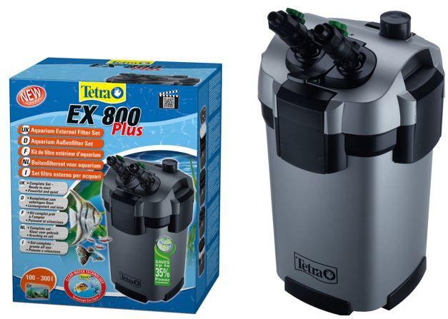 Tera EX 800 Tetra Ex 800 plus   Aquarium (max.300L) Außenfilter für 59,99€