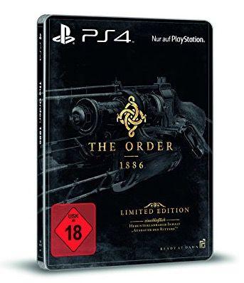 The Order: 1886 (PS4, uncut) Steelbook Edition Ausdauer des Ritters für 30,68€