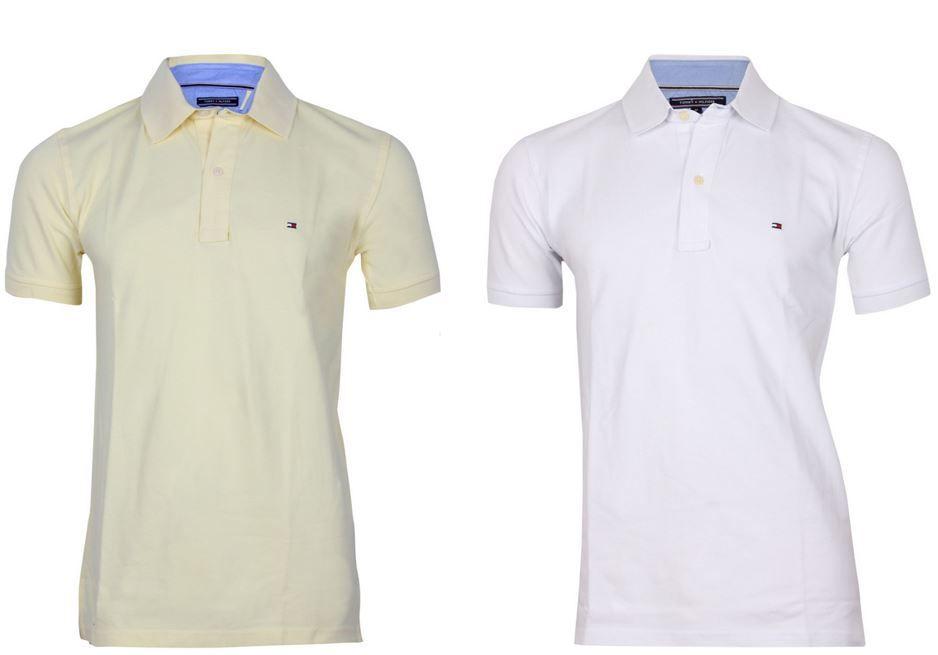 Tommy Hilfiger Herren Poloshirt Tommy Hilfiger und Ragman bis zu 70% reduziert   kultige T Shirts und Polos