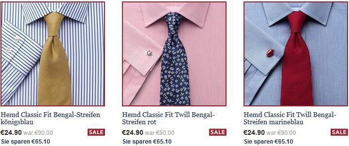 Top Hemden Charles Tyrwhitt Sale + 3 Gutscheine   Hemden schon ab 19,90€