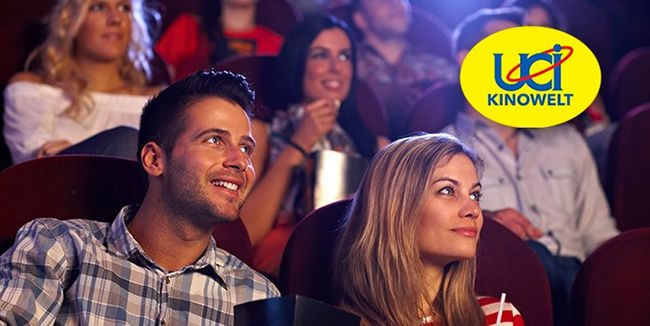 5 UCI Kinogutscheine   für alle 2D Filme inkl. Überlänge und Loge für 32€