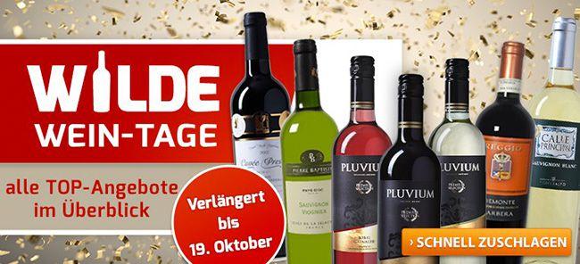 Weinvorteil wilde Wein Tage Verschiedene Wein Pakete heute nochmal wiederbelebt bei Weinvorteil