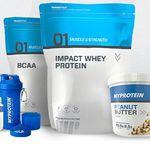 MyProtein: 3 Produkte zum Preis von 2 auf Alles + gratis Protein Bites ab 50€