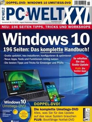 Kostenloses Windows 10 Handbuch als PDF von PC Welt