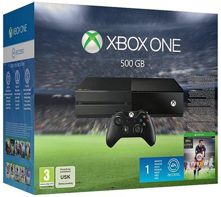 Xbox One inkl. Fifa 16 für 299€ (statt 325€)