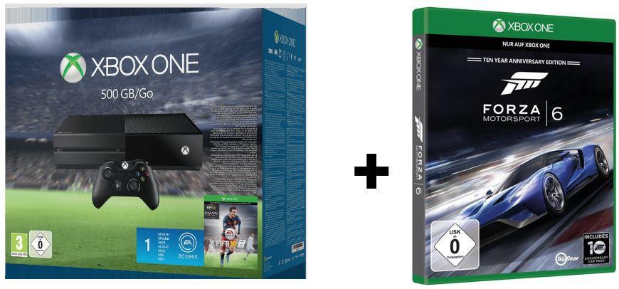 Xboxone fifa2016 Forza6