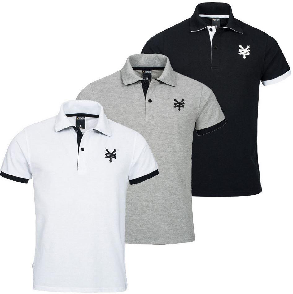 Zoo York ZSK00155   Herren Polo Shirt mit Stehkragen für 17,99€