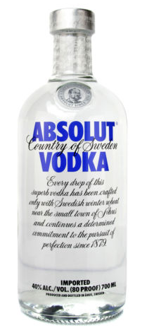 Knaller! Absolut Vodka 0,7 nur 7,77€