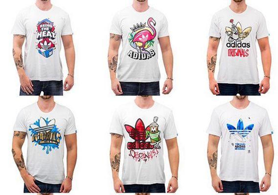 adidas T Shirts adidas T Shirts in vielen Farben für je 11,89€