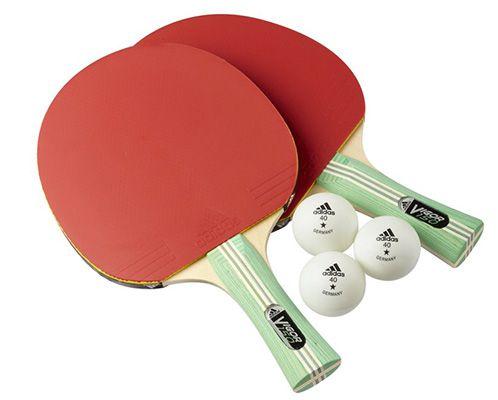 adidas Vigor 150 adidas Vigor 150 Tischtennis Schläger Set + 3 Bälle ab 10,25€ (statt 22€)