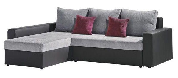 carryhome Textil Wohnlandschaft mit Kissen für 299€