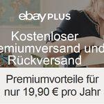 Nur heute: Kostenlose Jahresmitgliedschaft für eBay Plus beim Kauf eines Ebay WOW-Angebots