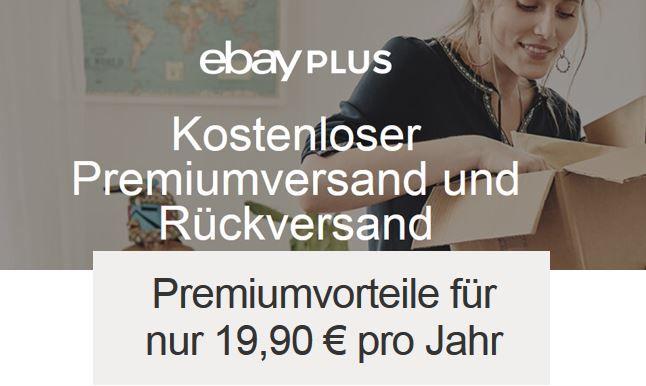 Kostenlose Jahresmitgliedschaft eBay Plus
