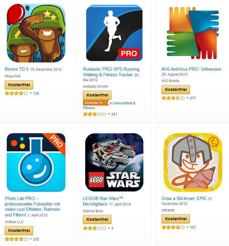 Gratis Android Apps zu Halloween im Wert von 60€