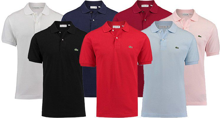 Lacoste L1212 Poloshirt in mehreren Farben ab je 53,42€ (statt 60€)