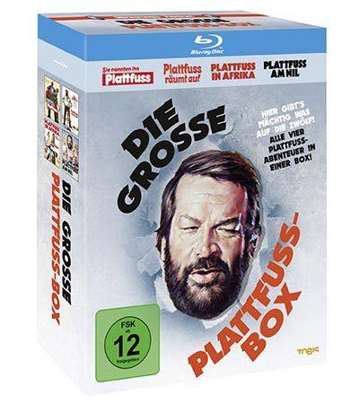 Bud Spencer   Die große Plattfußbox mit 4 Blu rays für 15,93€
