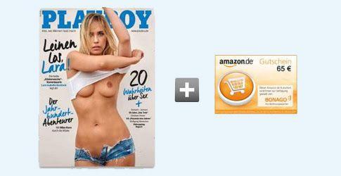 Playboy Jahresabo für effektiv 13€ dank 65€ Prämie