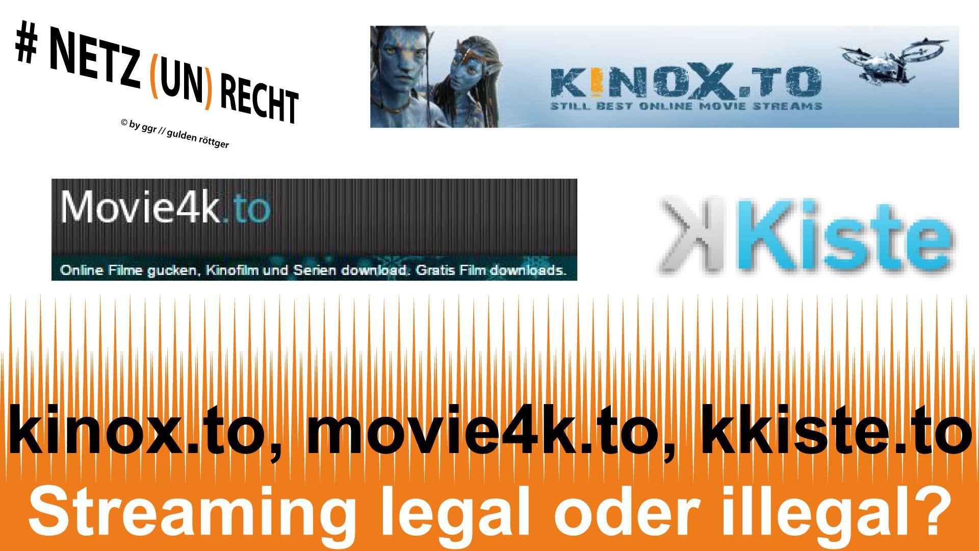 Streaming von Serien, Bundeslige & Filmen legal, oder illegal ?