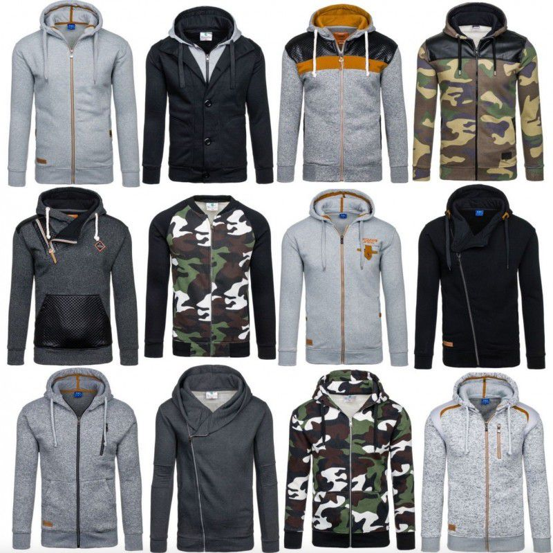 New Men   Herren Hoodies mit Zipper für je 17,95€ inkl. VSK