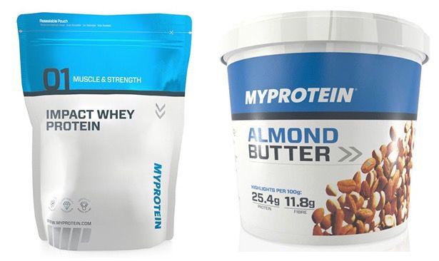 30% Rabatt auf alle 1kg Produkte bei Myprotein