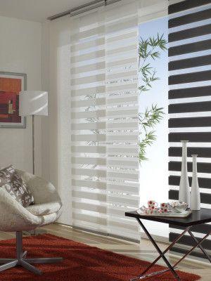 Gardinia Flächenvorhänge 60x245cm   in Weiß oder Grau für 24,99€