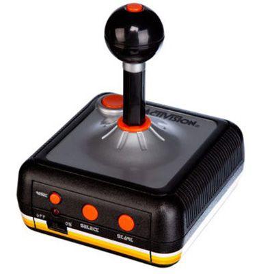 Activision 10 Original Atari Spiele im Joystick für 9,99€