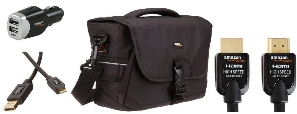 günstiges Amazon Basic Zubehör heute   z.B. der Sling Rucksack für SLR Kameras ab 24,79€
