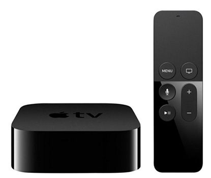 Apple TV 4. Generation 32GB + 50€ Media Markt Gutschein + 3 Monate Zattoo Premium für 179€