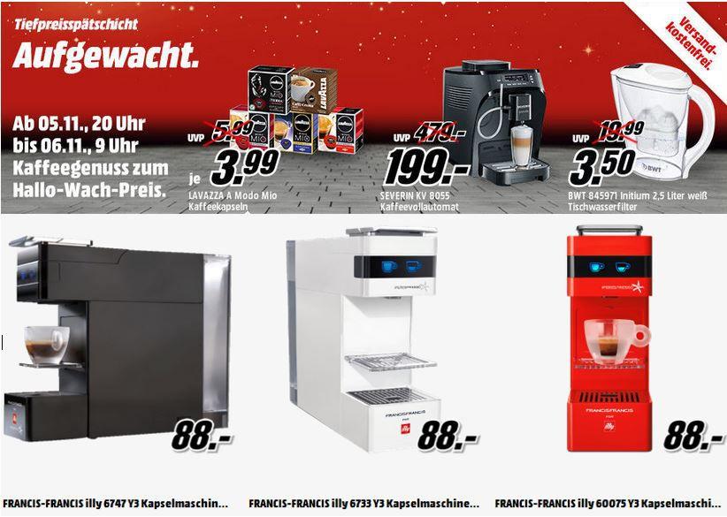 Aufgewacht Lavazza A Modo Mio Cafe   16 Kapseln ab 3,99€ und mehr Angebote in der Media Markt Tiefpreisschicht