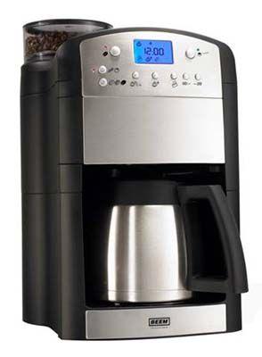 BEEM Fresh Aroma Perfect Deluxe Kaffeemaschine mit Mahlwerk für 89,95€ (statt 124€)