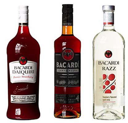 Bacardi Rum Letzter Tag! 25% Rabatt auf Bacardi Rum bei Amazon   z.B. Bacardi Carta Negra ab 11,24€