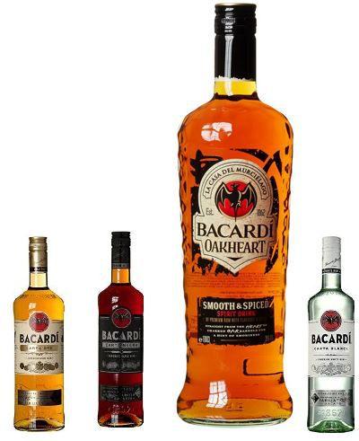Bacardi mit 25% Rabatt @Amazon   z.B. Bacardi Carta Blanca nur 9,74€
