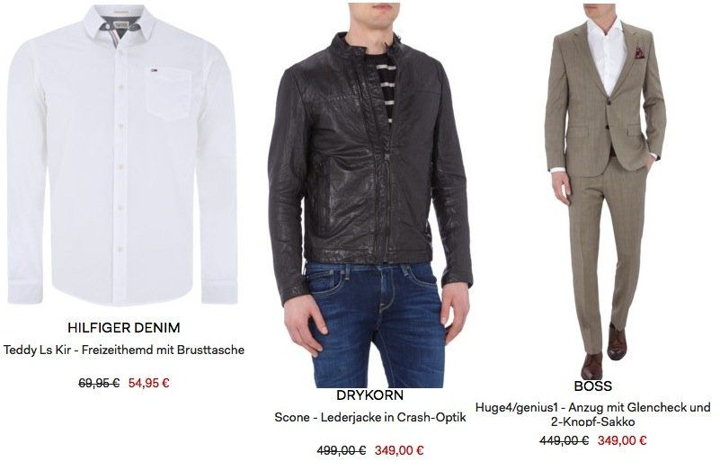 Sehr guter Fashion ID Sale (Peek & Cloppenburg*)