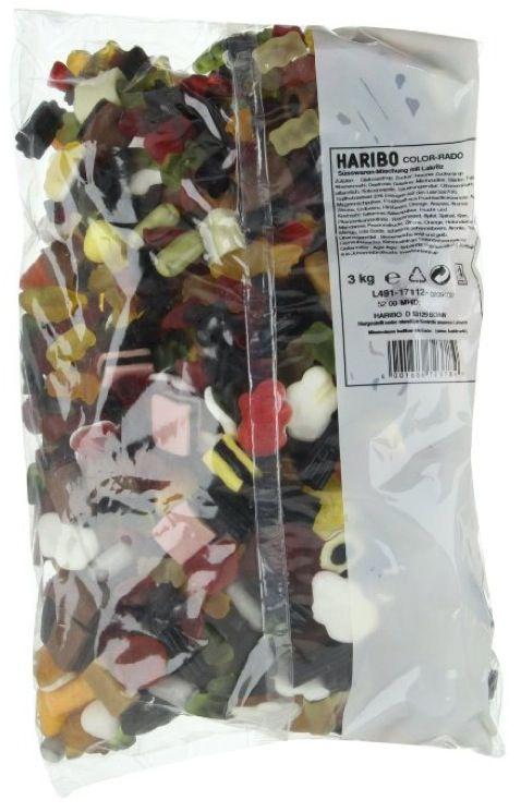 3kg Haribo Color Rado ab 11,22€ (statt 17€)
